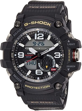 Casio G-Shock Mudmaster Twin Sensor Men's Sports Watch
