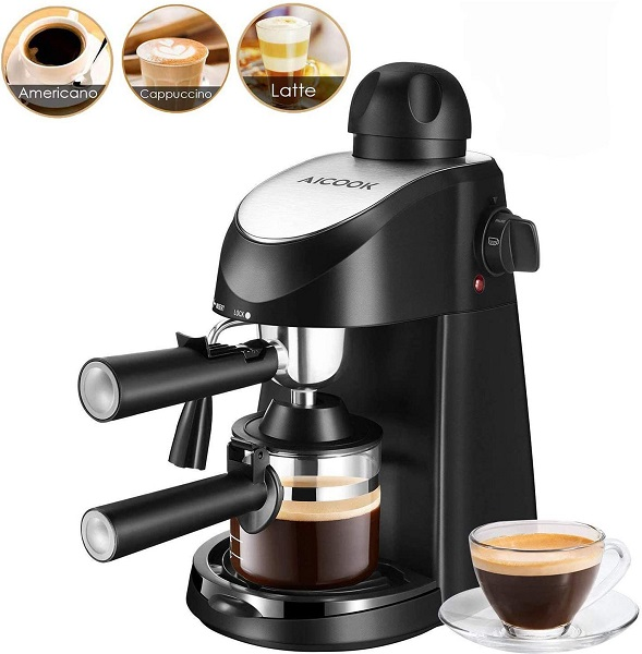 Aicook 3.5 Bar Espresso Coffee Maker
