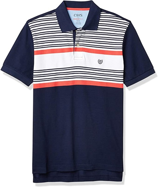 Chaps Men's Classic-Fit Mesh Polo Shirt