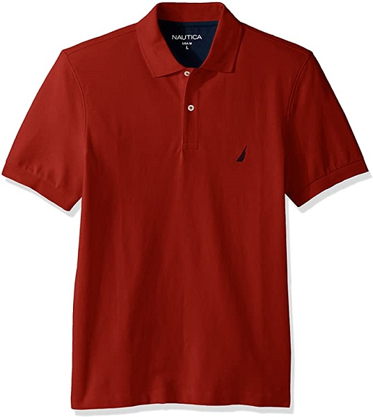 Nautica Men's Short Sleeve Polo