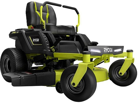 RYOBI 42 in. Electric Riding Zero Turn Mower