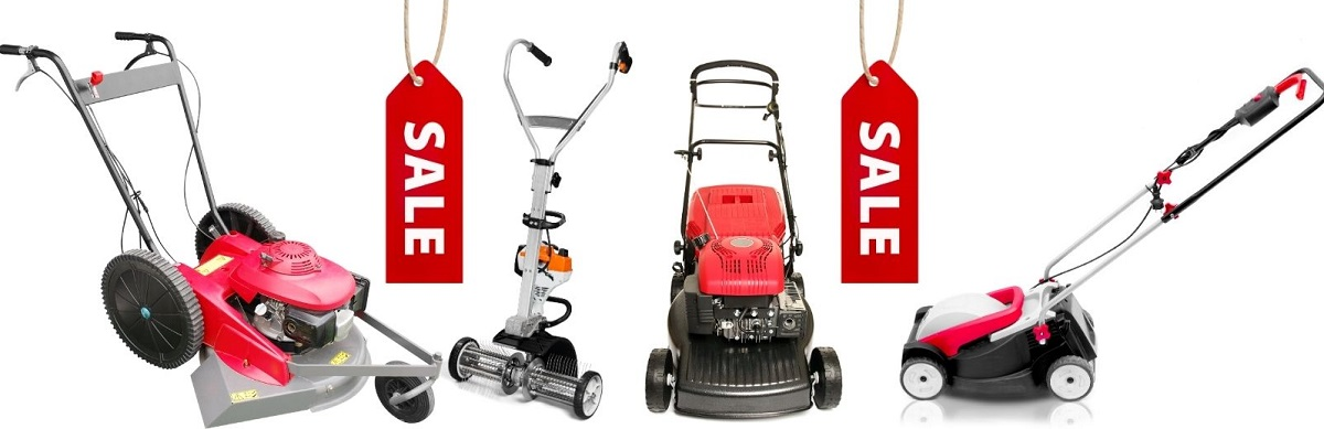 when do lawn mowers go on sale