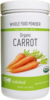 Carrot Flour Gluten-free by Whole Food Powder