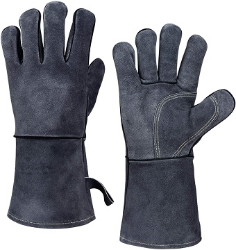 Heat Resistant Fireplace Gloves 1