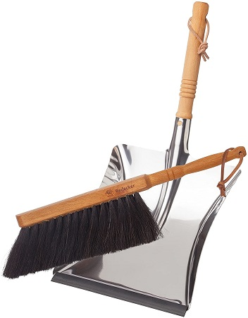 Redecker Dust Pan and Brush Set